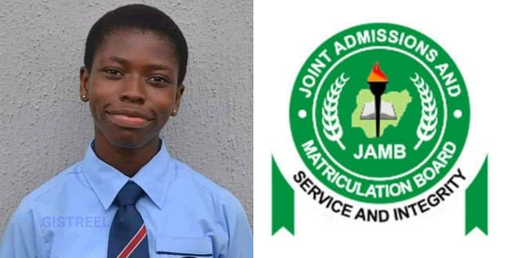 Meet Miss Madu Agnes, Girl With The Highest 2020 JAMB Score (Photo)