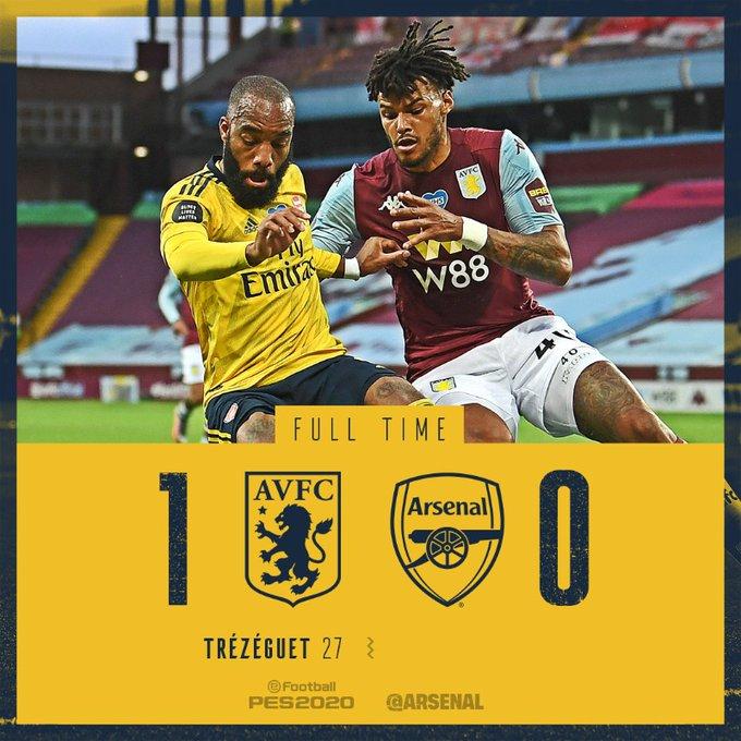 Aston Villa vs Arsenal 1-0 – Highlights [DOWNLOAD VIDEO]