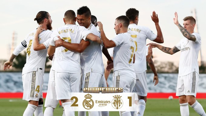 Real Madrid vs Villarreal 2-1 – Highlights [DOWNLOAD VIDEO]