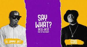 DJ Jimmy Jatt Ft CDQ – Say What (Pete Pete)