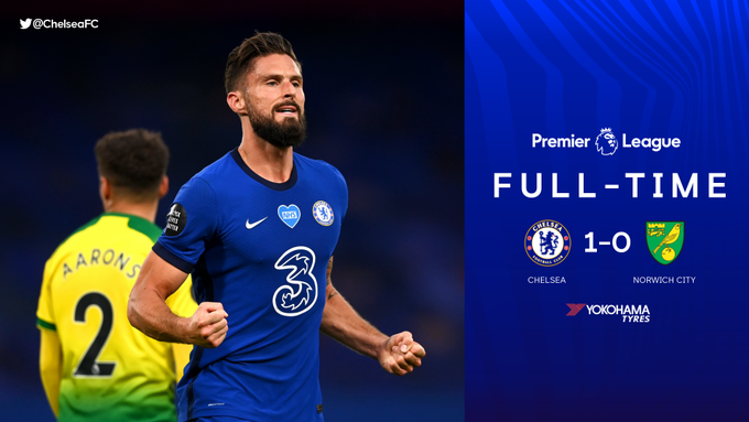 Chelsea vs Norwich 1-0 – Highlights [DOWNLOAD VIDEO]