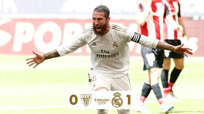 Athletic Bilbao vs Real Madrid 0-1 – Highlights [DOWNLOAD VIDEO]