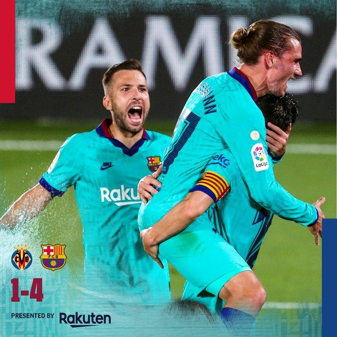 Villarreal vs Barcelona 1-4 – Highlights [DOWNLOAD VIDEO]