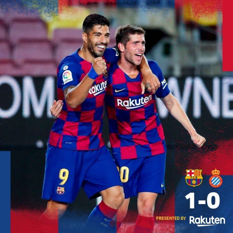 Barcelona vs Espanyol 1-0 – Highlights [DOWNLOAD VIDEO]