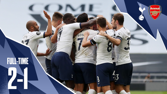 Tottenham vs Arsenal 2-1 – Highlights [DOWNLOAD VIDEO]