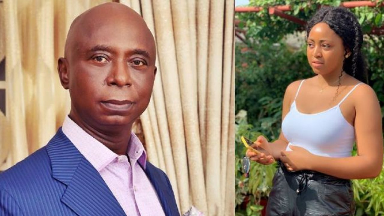 Ned Nwoko dizzies Regina Daniels in the presence oh her step kids (Video)