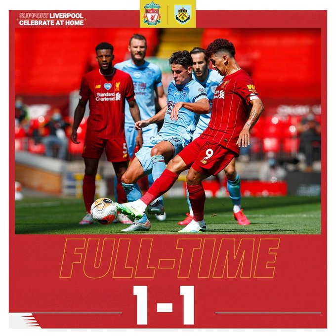 Liverpool vs Burnley 1-1 - Highlights [DOWNLOAD VIDEO ...