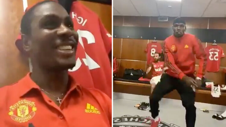 Manchester United stars, Odion Ighalo and Paul Pogba dance to Wizkid's song, Soco [Video]