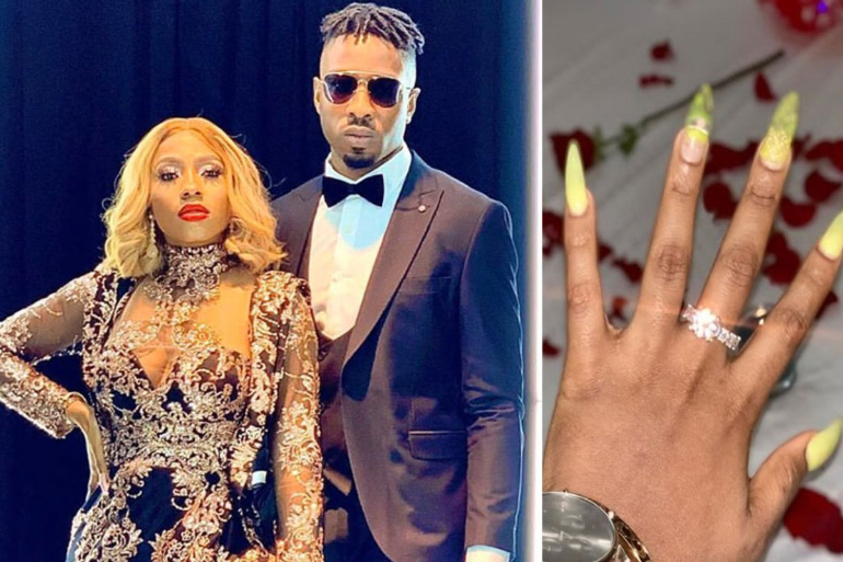 Ike buys a diamond engagement ring  worth N1million for Mercy