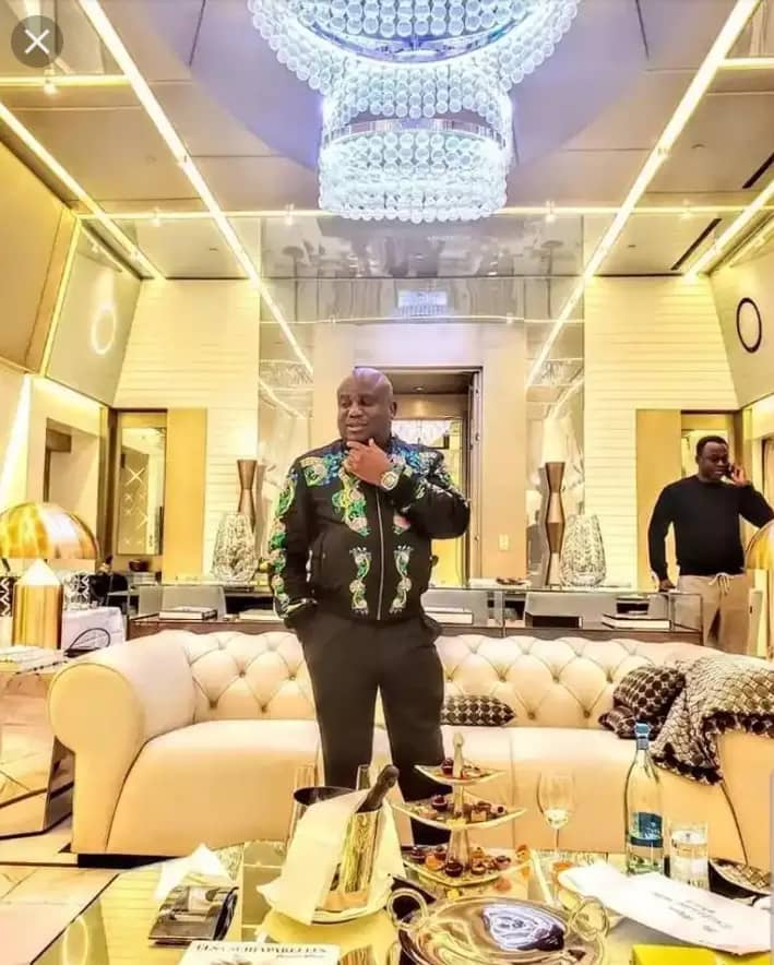 Meet BBNaija Kiddwaya billionaire father who is called Mr Versace