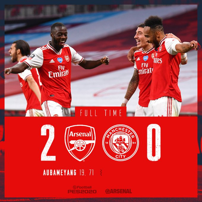 Arsenal vs Manchester City 2-0 – Highlights [DOWNLOAD VIDEO]