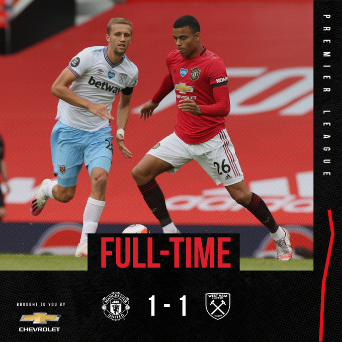 Manchester United vs West Ham 1-1 – Highlights [DOWNLOAD VIDEO]