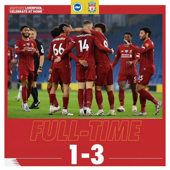 Brighton vs Liverpool 1-3 – Highlights [DOWNLOAD VIDEO]