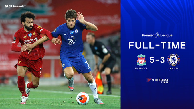 Liverpool vs Chelsea 5-3 – Highlights [DOWNLOAD VIDEO]