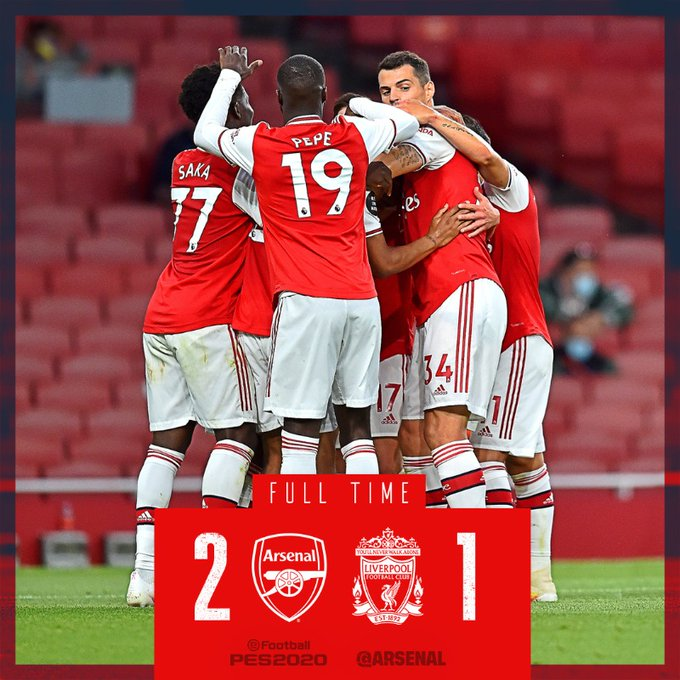 Arsenal vs Liverpool 2-1 – Highlights [DOWNLOAD VIDEO]