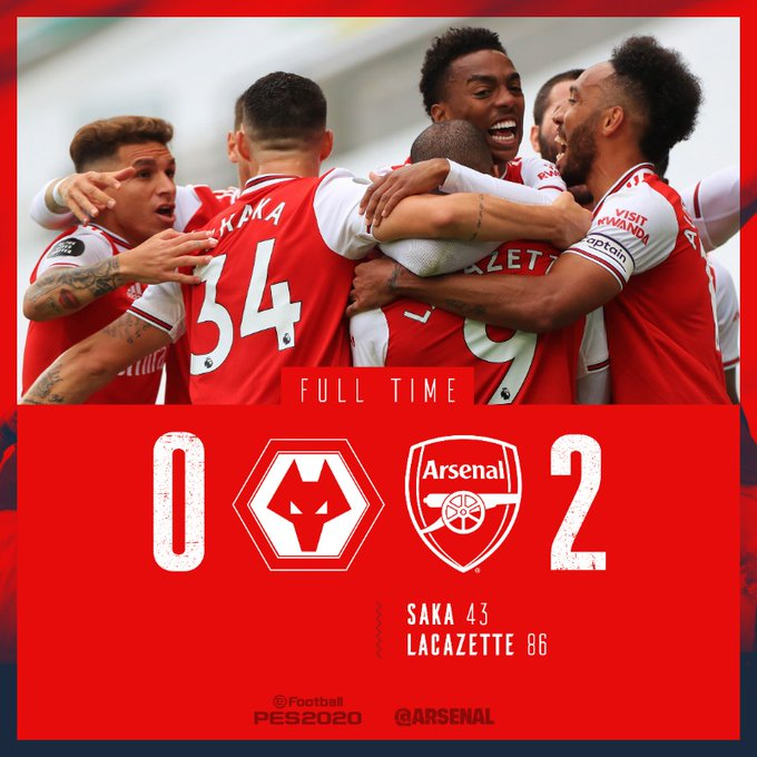 Wolves vs Arsenal 0-2 – Highlights [DOWNLOAD VIDEO]