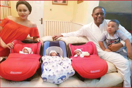Five Nigerians celebrities you never knew have a triplet