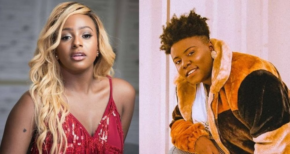 """Teni tells DJ Cuppy, """"I Pity you, It will end in Tears"""""""