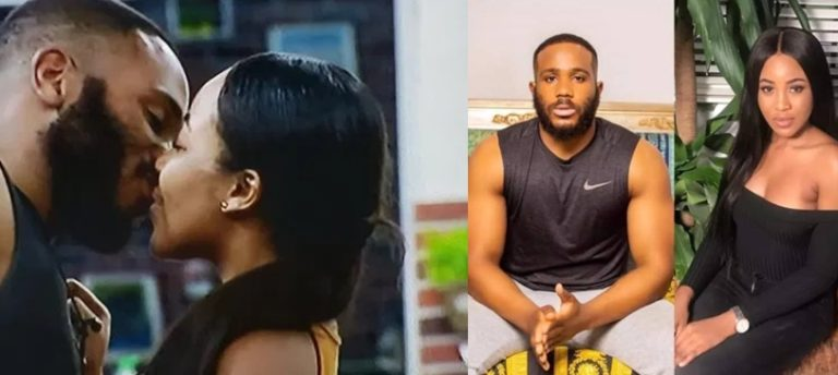 BBNaija : More Drama Unfolds Kiddwaya kisses Erica Passionately (Video)