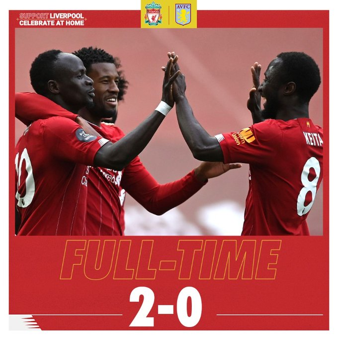 Liverpool vs Aston Villa 2-0 – Highlights [DOWNLOAD VIDEO]