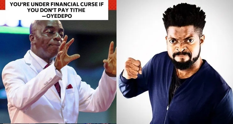 BasketMouth shades Oyedepo after comment on tithing