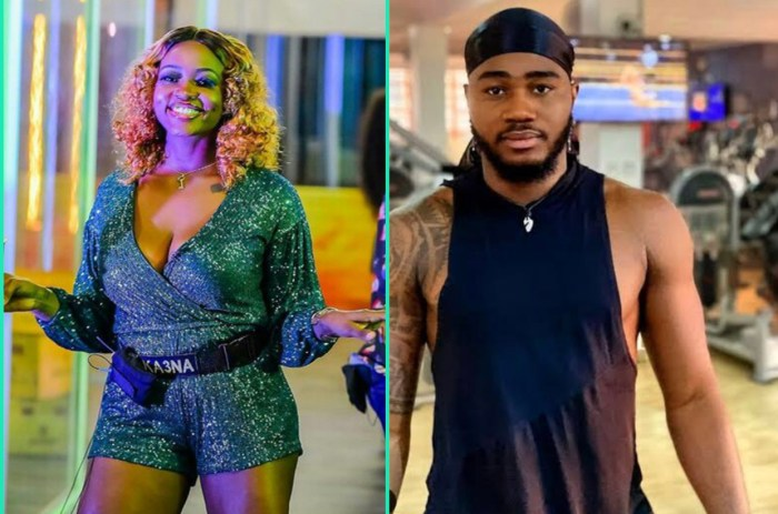 BBNaija 2020: Ka3na and Praise spotted having sex (Video)