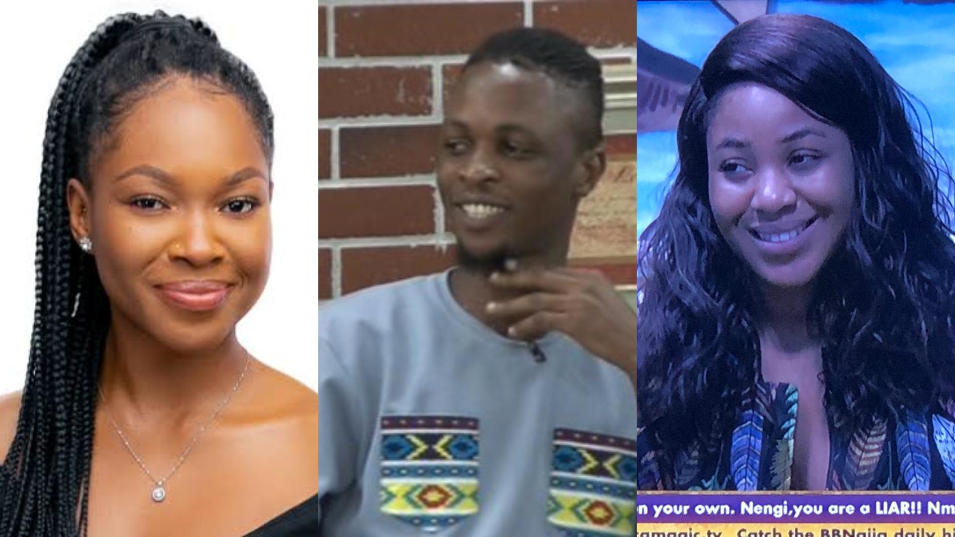 BBNaija 2020: Vee tells Erica, Laycon's manhood is very huge (Video)