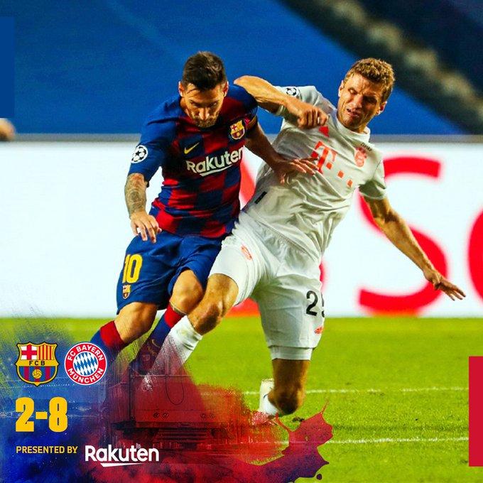 Barcelona vs Bayern Munich 2-8 – Highlights [DOWNLOAD VIDEO]