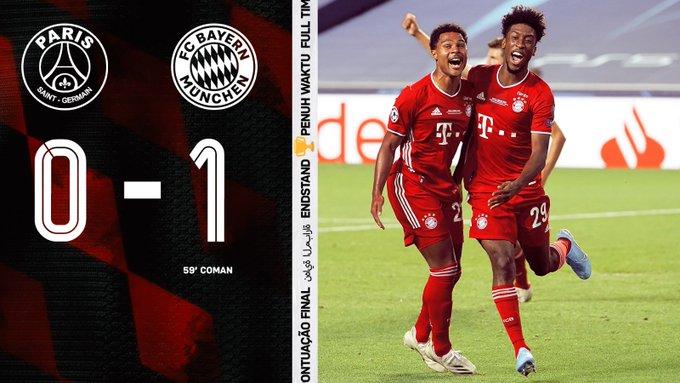 PSG vs Bayern Munich 0-1 – Highlights [DOWNLOAD VIDEO]