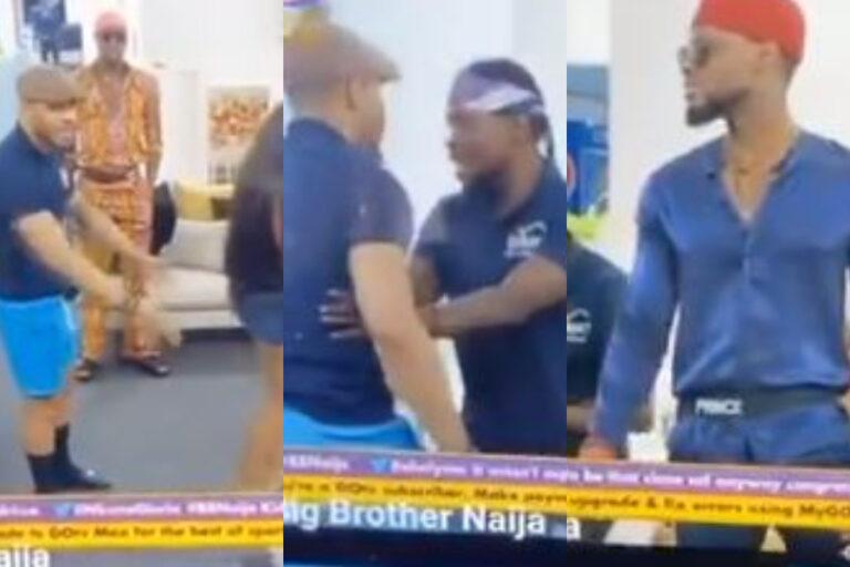 BBNaija 2020: Ozo clashes with Prince (Video)