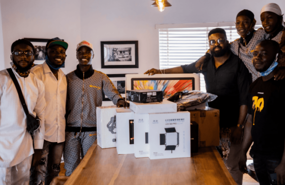 Netflix buys Ikorodu Bois with movie-making gadgets (Video)