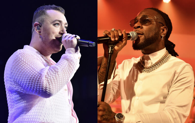 See Sam Smith comment on Burna Boy's Twice as tall album