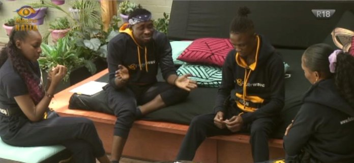 BBNaija 2020: we are the rejected four, Tricky Tee tells Laycon , Kaisha & Wathoni