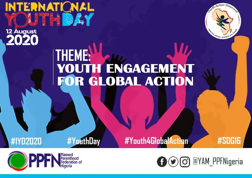 Planned Parenthood Federation of Nigeria, Youth celebrates #youthday