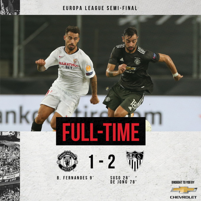 Sevilla vs Manchester United 2-1 – Highlights [DOWNLOAD VIDEO]