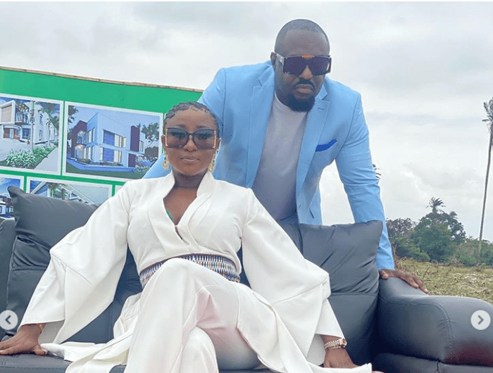 Ini Edo & Jim Iyke spotted in a commercial for CNN