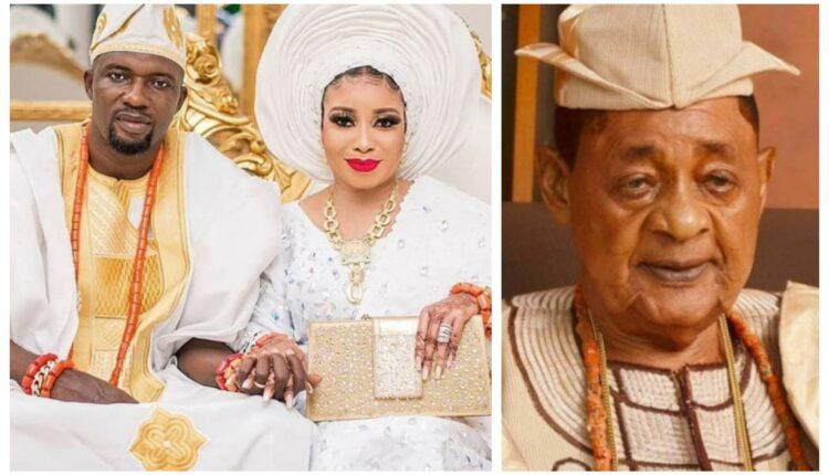 Liz Anjorin clarifies Alaafin of Oyo visit to her home