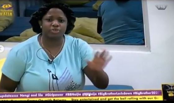 BBNaija 2020: Dorathy boobs pops out mistakenly while sleeping (video)