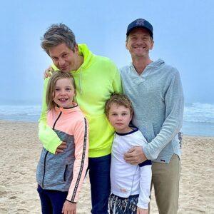 Neil Patrick family covid