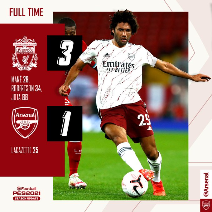 Liverpool vs Arsenal 3-1 – Highlights [DOWNLOAD VIDEO]