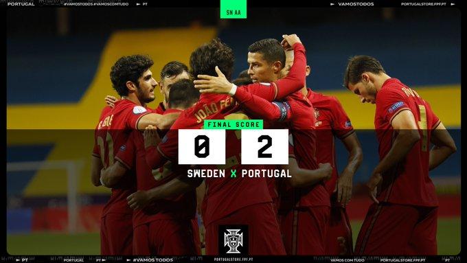Sweden vs Portugal 0-2 – Highlights [DOWNLOAD VIDEO]