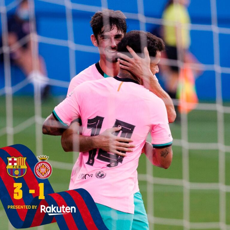 Barcelona vs Girona 3-1 – Highlights [DOWNLOAD VIDEO]