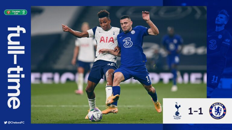 Tottenham vs Chelsea 1-1 (Pen 4-4) – Highlights [DOWNLOAD VIDEO]