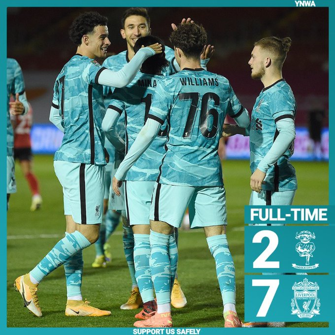 Lincoln vs Liverpool 2-7 – Highlights [DOWNLOAD VIDEO]