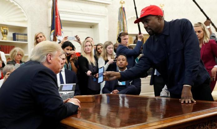 US ELECTION: 'I'm Richer Than Trump' – Kanye West