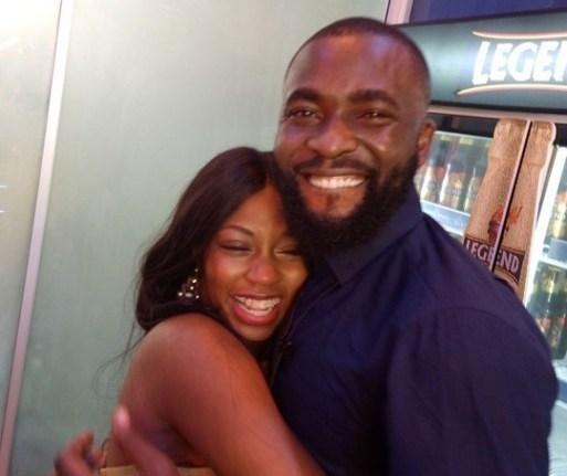 BBNaija: Watch Gedoni welcomes Khafi back to Nigeria [Video]