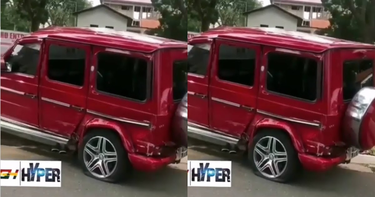 MAN crashed brand new G-Wagon he rented to impress a girl (Video)