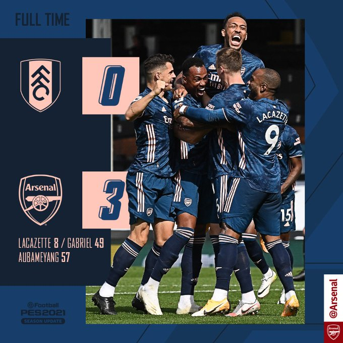Fulham vs Arsenal 0-3 – Highlights [DOWNLOAD VIDEO]