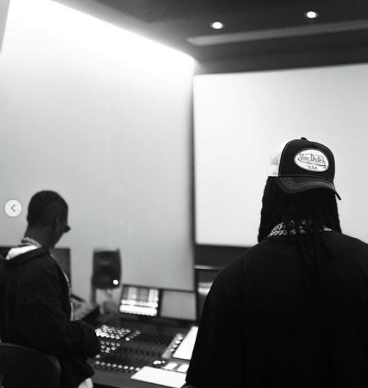 New Song Alert : Wizkid And Burna Boy Hit The Studio