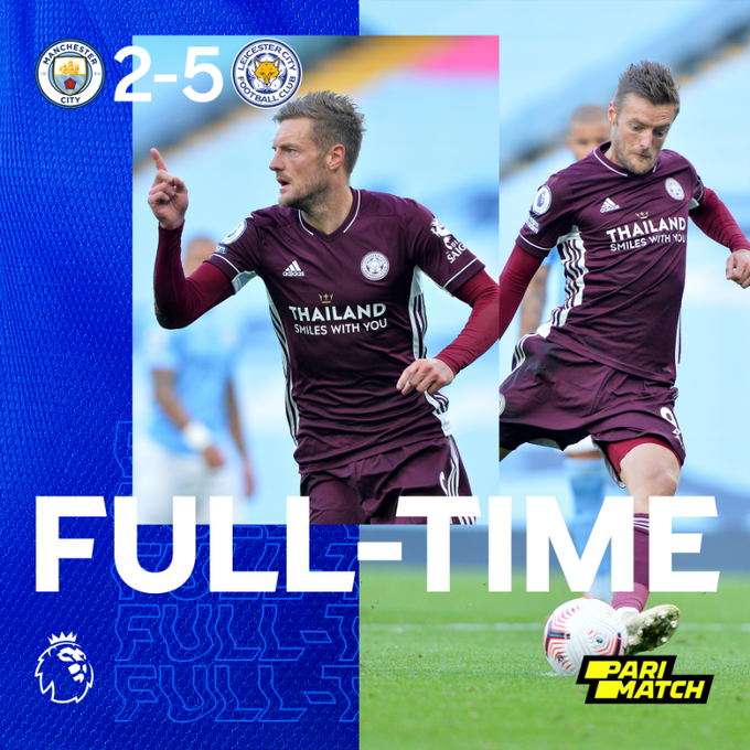 Manchester City vs Leicester 2-5 – Highlights [DOWNLOAD VIDEO]